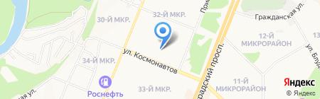 Лу-Лу на карте Ангарска