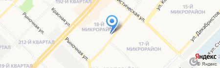 Гимназия №8 на карте Ангарска