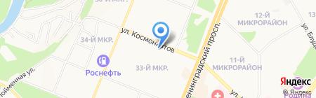 DANCER на карте Ангарска