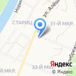 КрайсНефть на карте Ангарска