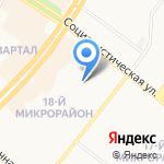 Жилавтотранс на карте Ангарска