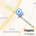 ДиМ на карте Ангарска