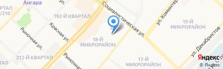 Два шага на карте Ангарска