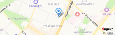 Зоомир на карте Ангарска