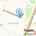 Солид-Сибирь на карте Ангарска