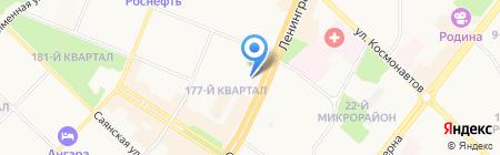 ВостСибЖАСО на карте Ангарска