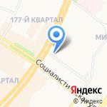 Планета Электрика на карте Ангарска