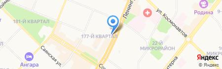 Everrest на карте Ангарска