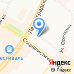 Гламур на карте Ангарска
