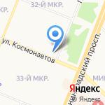 Военно-врачебная коллегия на карте Ангарска