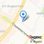 Адвокатские кабинеты Воробьевой Е.Д. и Тарасенко Н.И. на карте Ангарска