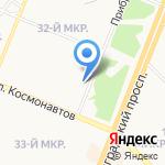 Милленниум на карте Ангарска