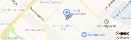 ИнжТехСтрой на карте Ангарска