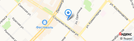 ВСК С на карте Ангарска