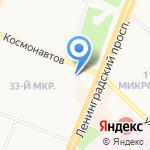 Метрологический центр на карте Ангарска