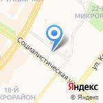 Жил Ком на карте Ангарска