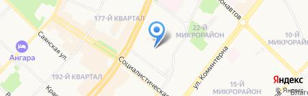 Федерация КУДО России на карте Ангарска