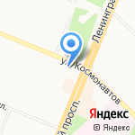 Элемент моды на карте Ангарска
