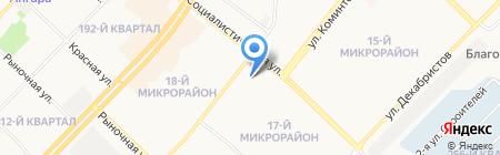 Фантазия на карте Ангарска