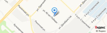 Сила на карте Ангарска