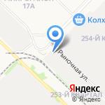 Весёлый кабан на карте Ангарска