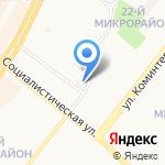 Элита на карте Ангарска