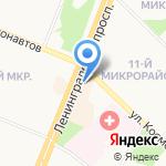 Мир напитков на карте Ангарска