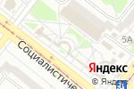 Схема проезда до компании Друг в Ангарске