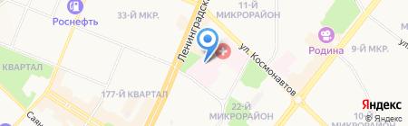 KDL на карте Ангарска