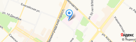 Женская консультация на карте Ангарска