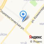 Шагомир на карте Ангарска