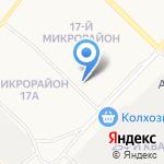 Отдел Военного комиссариата Иркутской области по г. Ангарску на карте Ангарска
