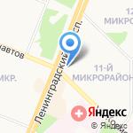 Одиннадцатый на карте Ангарска