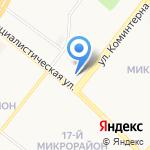 Продуктовый магазин на карте Ангарска