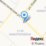 Отделение лицензионно-разрешительной работы и контроля за частной детективной и охранной деятельностью на карте Ангарска