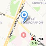 Визит на карте Ангарска