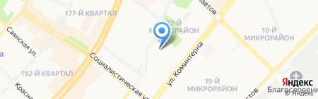 АВТОЭКСПРЕСС на карте Ангарска