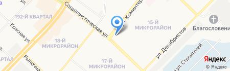 Спорт-Сервис на карте Ангарска
