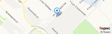 ГСК-2 на карте Ангарска