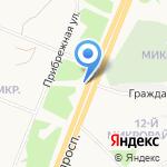 35 мкр на карте Ангарска