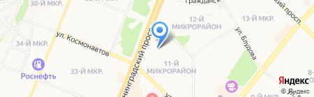 Хорошая обувь на карте Ангарска