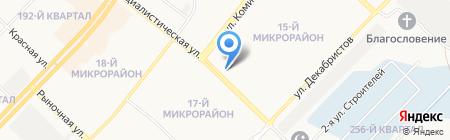 Эстель на карте Ангарска