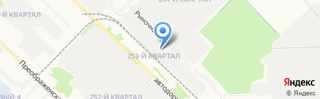 Ремонт вмятин на карте Ангарска