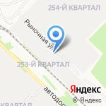 Сиб-сервис на карте Ангарска