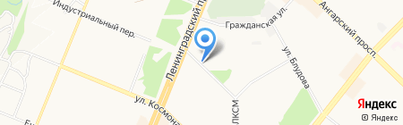 Персона ГАВ на карте Ангарска