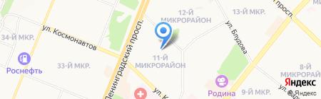 Детский сад №74 на карте Ангарска