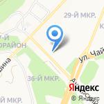 Простор на карте Ангарска