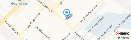 Банкомат АЛЬФА-БАНК на карте Ангарска