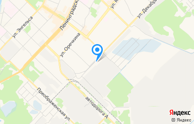 Местоположение на карте пункта техосмотра по адресу Иркутская обл, г Ангарск, кв-л 254, д 2