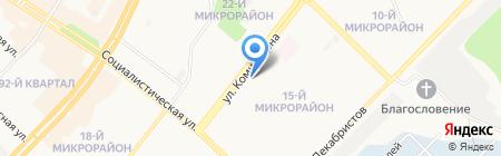 Банкомат Банк ВТБ 24 ПАО на карте Ангарска